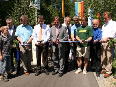 Eröffnung, Fichtelnaanradweg