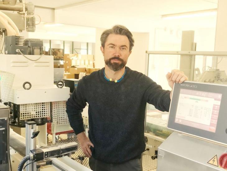 Geschäftsführer Wendelin Blankertz von der Donath-Mühle