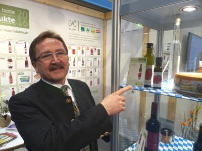 Bgm. Donko mit Steinwald Mohnöl