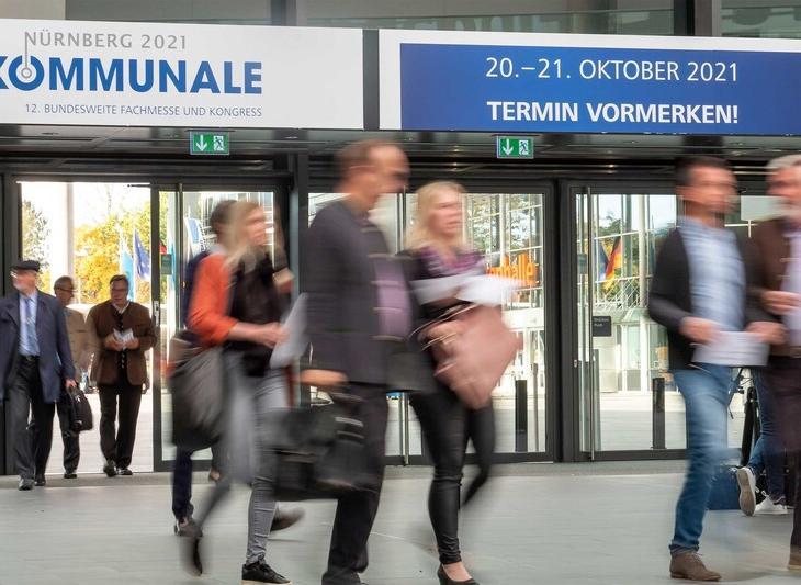 Hinweis: Die nächste KOMMUNALE findet vom 20. bis 21. Oktober 2021 in Nürnberg statt.